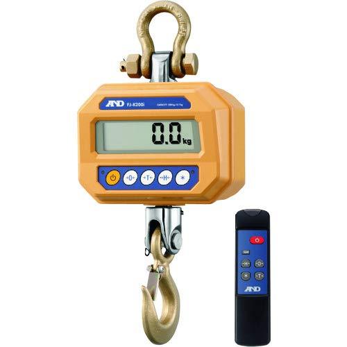 A&D 防塵・防水 クレーンスケール FJ-K200i ≪ひょう量:200kg 最小表示:0.1kg 検定無≫