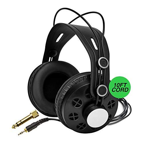 Knox Gear TX-200 Open-Back Studio Reference Headphones