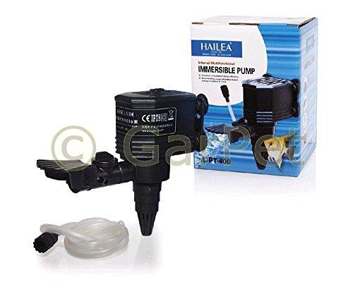 HAILEA PT - Serie Powerhead Pumpe Circulator Wasserpumpe Förderpumpe Filter (pt-400)