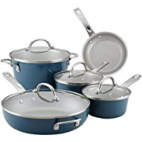 9-Piece Ayesha Curry Nonstick Cookware Pots & Pans Set