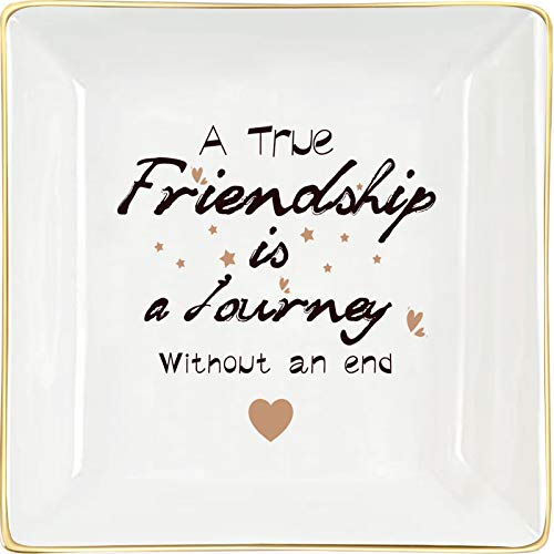 H&B Living Friendship Gifts Decorative Jewelry Dish Birthday Gifts For Best Friends Female