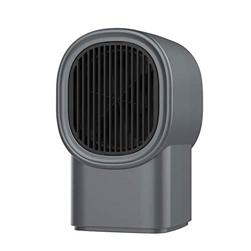 Calefactor Pequeños electrodomésticos mini calentador eléctrico, cerámica calentador de espacio con la protección del sobrecalentamiento, F. eléctrico portátil de cerámica (Color: Blanco), color: negr