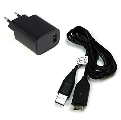 bg-akku24 Ladegerät & Ladekabel, Datenkabel, USB-Kabel für Samsung PL20,PL21,PL200,PL201,PL210,PL211,PL50,PL51,PL55,PL60,PL65,PL80,PL81,SH100,ST30,ST45,ST50,ST500,ST510,ST5000,ST5500