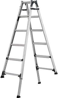 アルインコ 伸縮脚付きはしご兼用脚立(踏ざん幅60mm・各脚441mm伸縮) PRT210FX