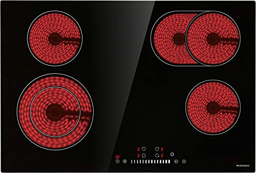 Electric Cooktop, ECOTOUCH Radia...