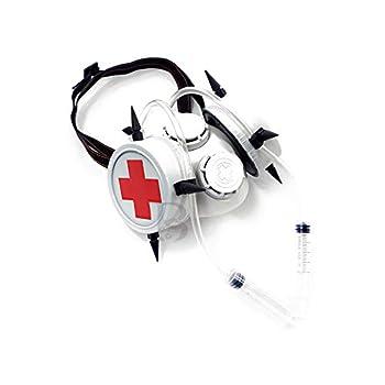 Beyond Cosplay Gas Masquerade Mask Respirator Mouth Mask Halloween Costume White