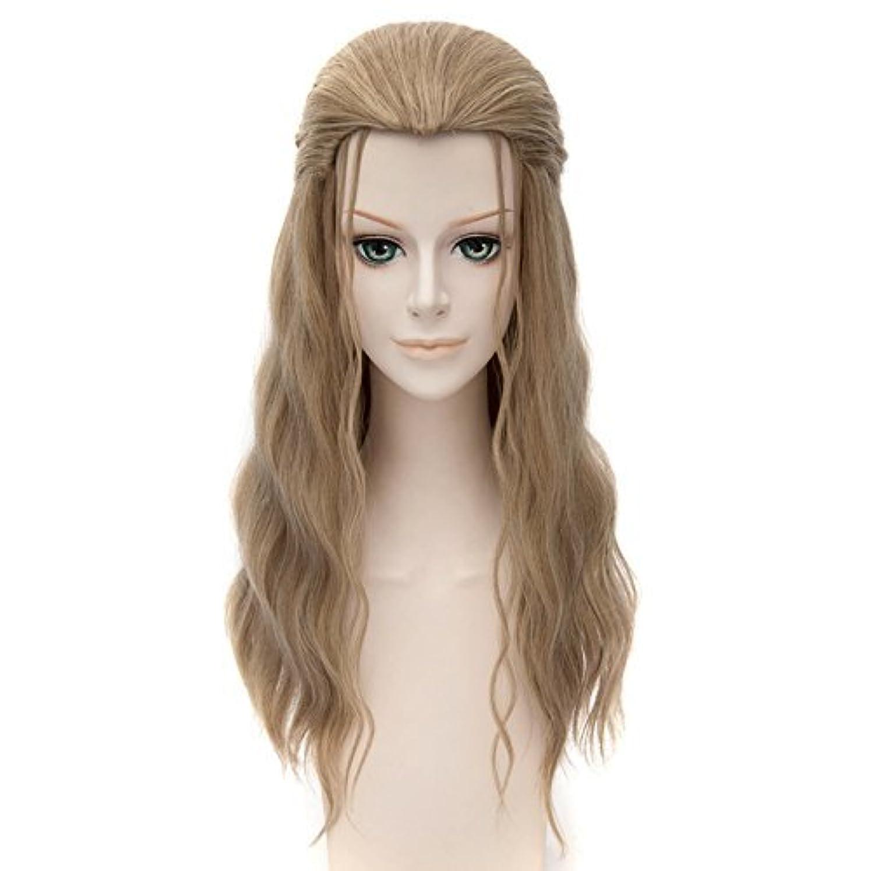 音声学付ける祝福する女性のためのかつら髪耐熱高品質長いカーリー合成かつら