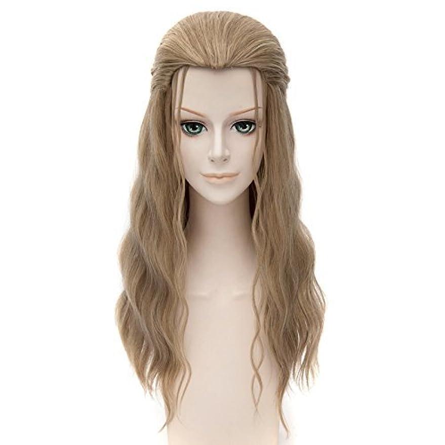恥ずかしいメダリスト考古学者女性のためのかつら髪耐熱高品質長いカーリー合成かつら