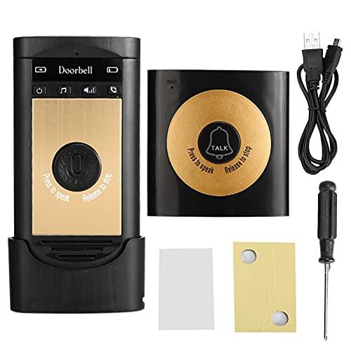 Controlador de Acceso, Lector RFID de Puerta, Sistema de Control de Acceso para Oficina en casa(Black Gold)