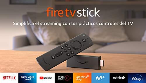 Fire TV Stick con mando por voz para Alexa