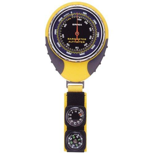 EMPEX(エンペックス) アナログ高度計 アルティ・マックス 5000CT 気圧計 温度計 コンパス付き イエロー FG-5162