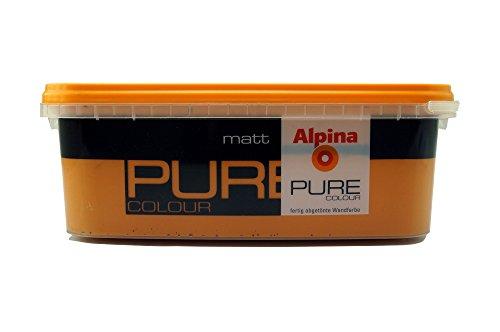 ALPINA Pure Colour, 2,5 L. Wandfarbe, Terra Matt Ausreichend für ca. 20-25 m2
