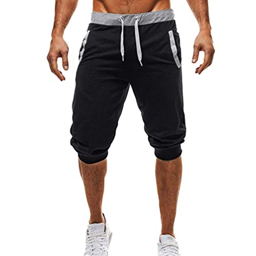 Targogo Mannen Functionele Sweatpants Lichtgewicht Outdoor Fietsen Festival Shorts Elastische Mode Training Chino Shorts Bermuda Shorts Jogging Broek
