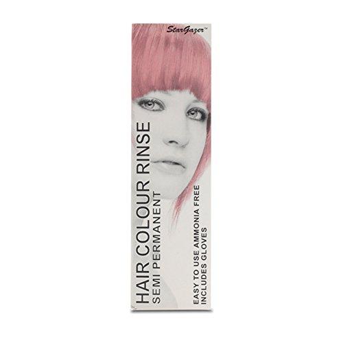 2 x Stargazer Semi Permanent Baby Pink Hair Colour Dye