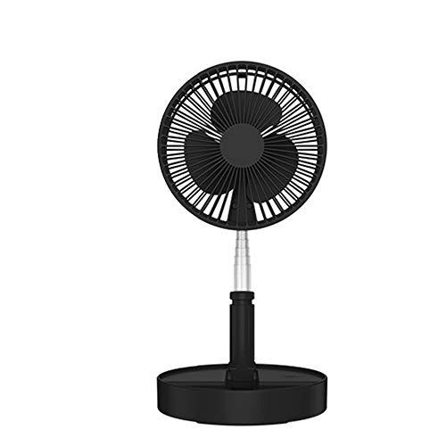 NCBH draagbare handventilator, USB-oplader, kleine ventilator, mini-koude luchtventilator, multifunctioneel, inklapbaar, voor binnen en buiten