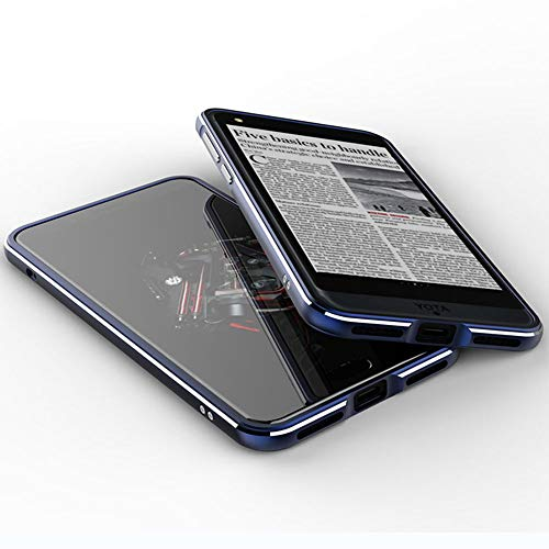 TPEKKA YotaPhone YOTA 3 Hülle, Premium Elektroplate Metall Rahmen Stoßfest Case Slim Arc Style Case Schutzhülle für YotaPhone 3