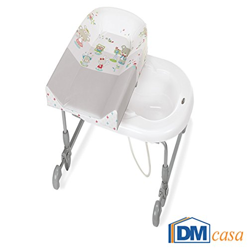 Brevi - Cambiador y bañera para bebé 594 multicolor