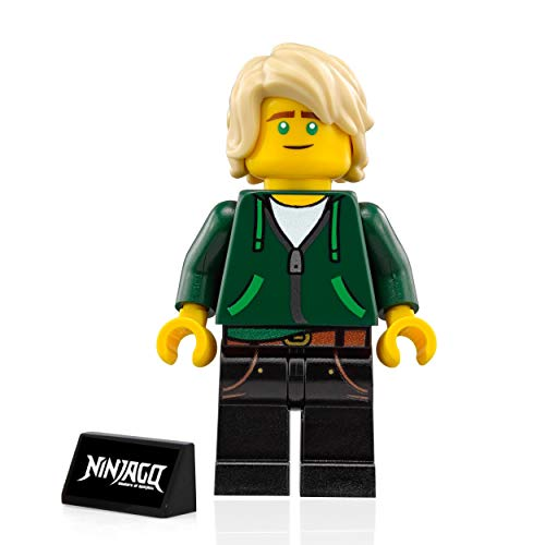 The LEGO Ninjago Movie Minifigure - Lloyd Garmadon (High School Outfit with stand) 70620