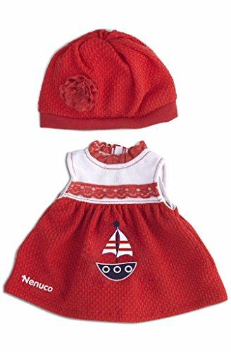 Nenuco Ropita Casual 35cm. Vestido y gorro rojos (Famosa) (700013822)