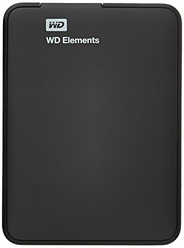 Western Digital Elements 1TB USB 3.0 Portable External Hard Drive (Black)