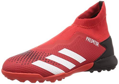 adidas Herren Predator 20.3 Ll Tf Fußballschuhe, Grau Active Red FTWR White Core Black, 44 EU