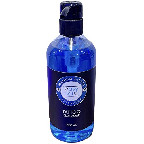 Tattoo Blue Soap 500 ml. - Professional Tattoo Cleansing Soap
