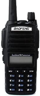 BaoFeng UV-82L Two Way Radio-Dual Band 136-174 MHz (VHF) 400-520 MHz (UHF) Amateur (Ham) Portable Two-Way Radio (Black)