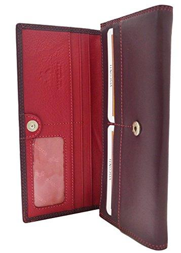 Visconti CD21suave cartera de piel de alta calidad/bolso/embrague/Soporte