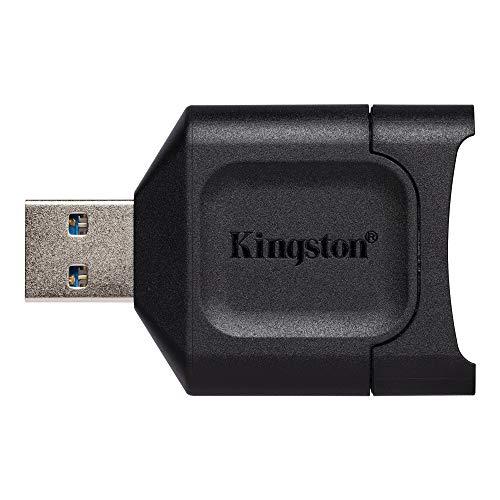Kingston SDメモリー カードリーダー USB3.2/UHS-II対応 MOBILELITE PLUS SDリーダー MLP 2年保証