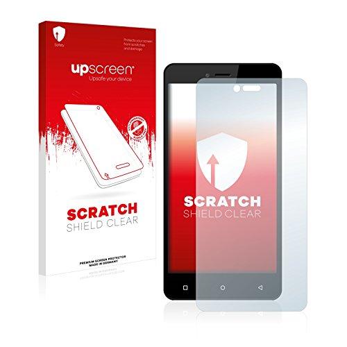 upscreen Schutzfolie kompatibel mit Allview V2 Viper i4G – Kristallklar, Kratzschutz, Anti-Fingerprint