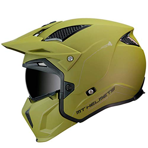 CASCO MT TRIAL TR902XSV STREETFIGT SOLID VERDE (M)