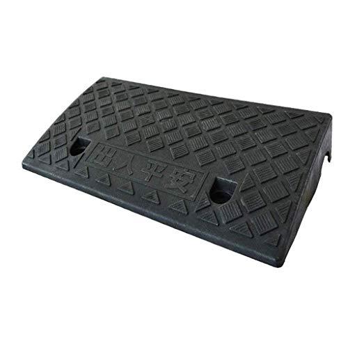 Bordsteinrampe, Outdoor-Rollstuhl Bergauf-Pad, im Freien beweglichen Auto-Step Pad Plastikfahrrad Autos Tür Rampe Schwelle Pad Curb Ramps (Size : 50 * 22 * 11CM)
