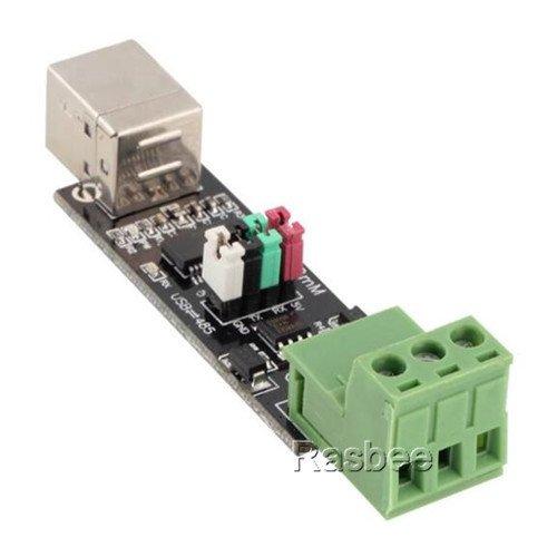 Rasbee USB転TTL RS 485 シリアル 転換アダプター FT232 FT232RLチップ Arduinoと互換 ダブル機能 ダブル保護 USB to RS485 FTDIインタフェース USB to TTL ボード シリアル変換アダプタ