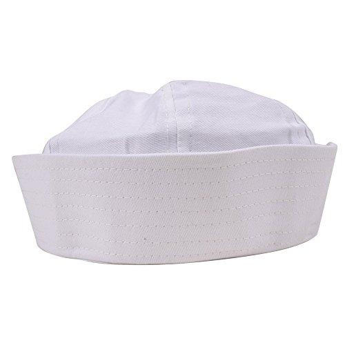 Deguisement Chapeau de Marin Mousse Blanc