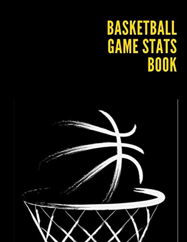 Basketball Game Stats Book: Basketball Player Status Organizer | Basket Ball Stats Journal & Record Book