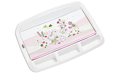 materassino fasciatoio brevi Brevi 006 Tablet Fasciatoio con Portaoggetti
