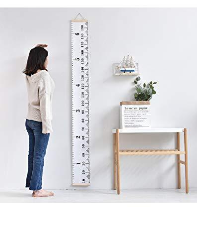 子供身長計 壁掛け 身長測定器 子供の成長記録 キッズ ウォールステッカー 子供部屋の装飾 目盛り 測定範囲0-190cm 移動可能 壁の装飾 玄関 幼稚園 保育園 フック付け
