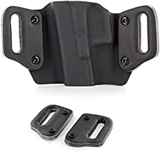 Outlaw Holsters Optional Leather Belt Loops, Pair, For 1.75