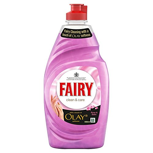 Fairy Clean & Care Rose Washing Up Liquid (383ml) - Pack of 2