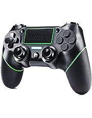 ELYCO Mando para PS4, Wireless Controlador Joystick De Juegos Inalámbrico Bluetooth Joypad Gamepad Remoto Joystick, Controller Gamepad Mini-LED para Playstation 4 / Pro/Slim / PS3
