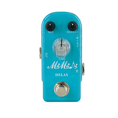 MIMIDI Delay effect Pedal Electric Guitar, Super Mini Effect Pedal Analog...