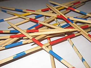 Wooden Mikado Sticks for Kids. 41 Sticks in A Pack