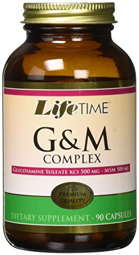 Lifetime Glucosamine Msm Complex 500 Mg Nutritional Supplements, 90 Count