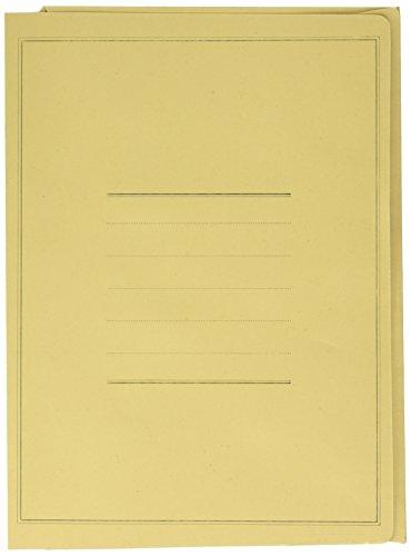 Pigna Eco Cartella con Stampa, Confezione da 50 Pezzi , colore GIALLO
