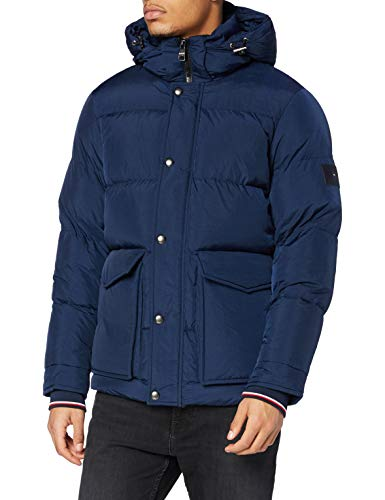 Tommy Hilfiger Herren Tommy Down Hdd Jacket Jacke, Night Sky, L