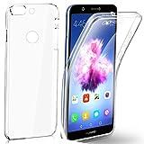 CAMPUS TELECOM Huawei P Smart (5.65'' Pouces) psmart Version 2018 Coque Double Gel 360 Degres...