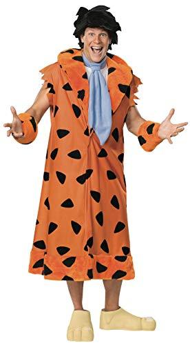 Kostüm Fred Feuerstein Familie The Flintstones Mantel für Herren Herrenkostüm Gr. XXL / FC Fullcut