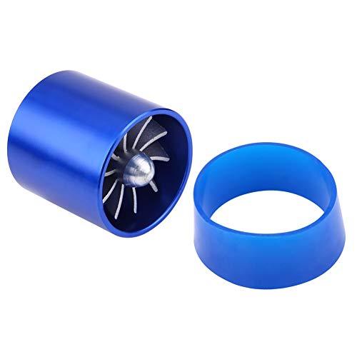 55mm Car Air Intake Turbo Car Air Intake Turbonator Single Fan Turbine SuperCharger Gas Fuel Saver