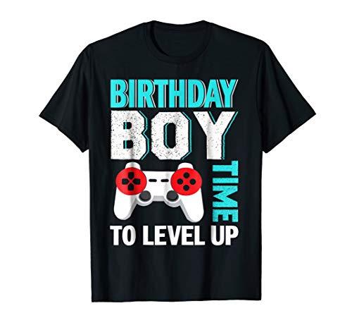 Birthday Boy Video Game Birthday Party T-Shirt