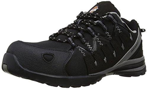 Dickies - Calzado de protección para hombre, Black, 44 (10 UK)